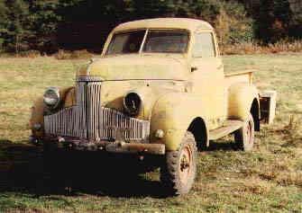 1947 Studebaker 4-wheel-drive pickup